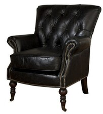 CAGNEY ARMCHAIR - BLACK