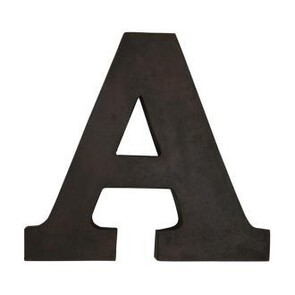 IRON LETTERS - LARGE