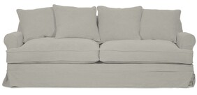 PALMER PASTEL GREY SOFA - 2.5 SEATER