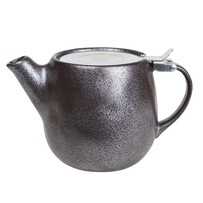EARTH TEAPOT - BLACK