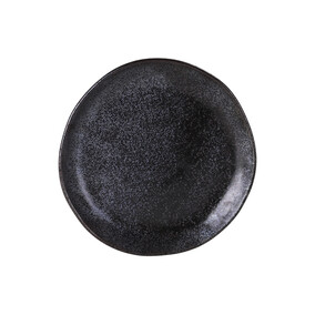 ROBERT GORDON EARTH SIDE PLATE - BLACK